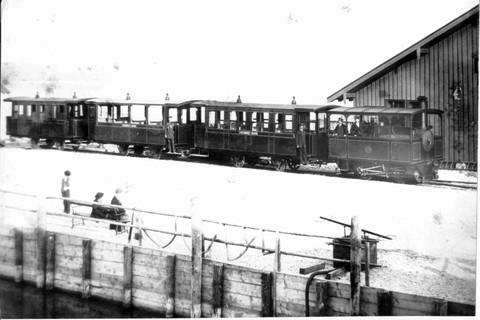 Kleine Bahn um 1887