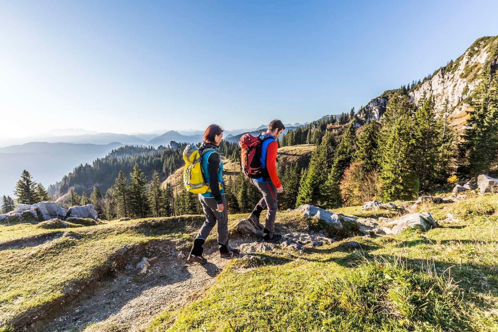 Wandern-Kampenwand-Herbst