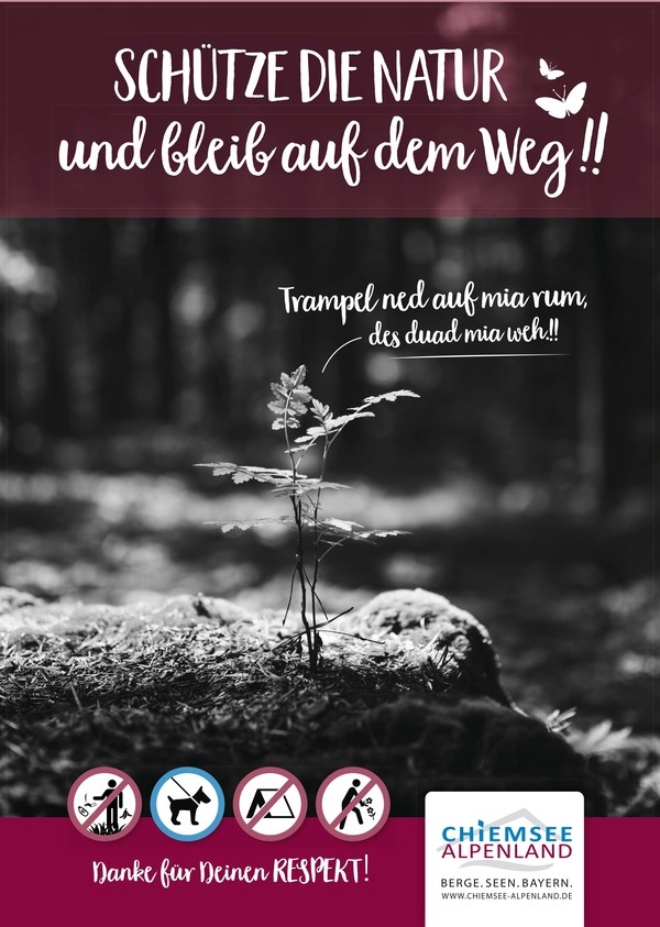 Plakat Naturschutz