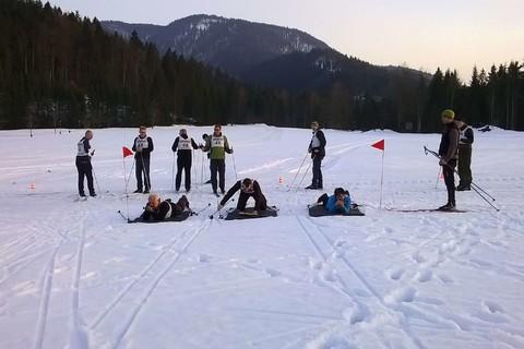 Funbiathlon Gruppe Winter